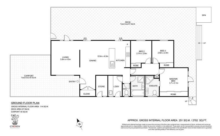 Tonic Floorplan